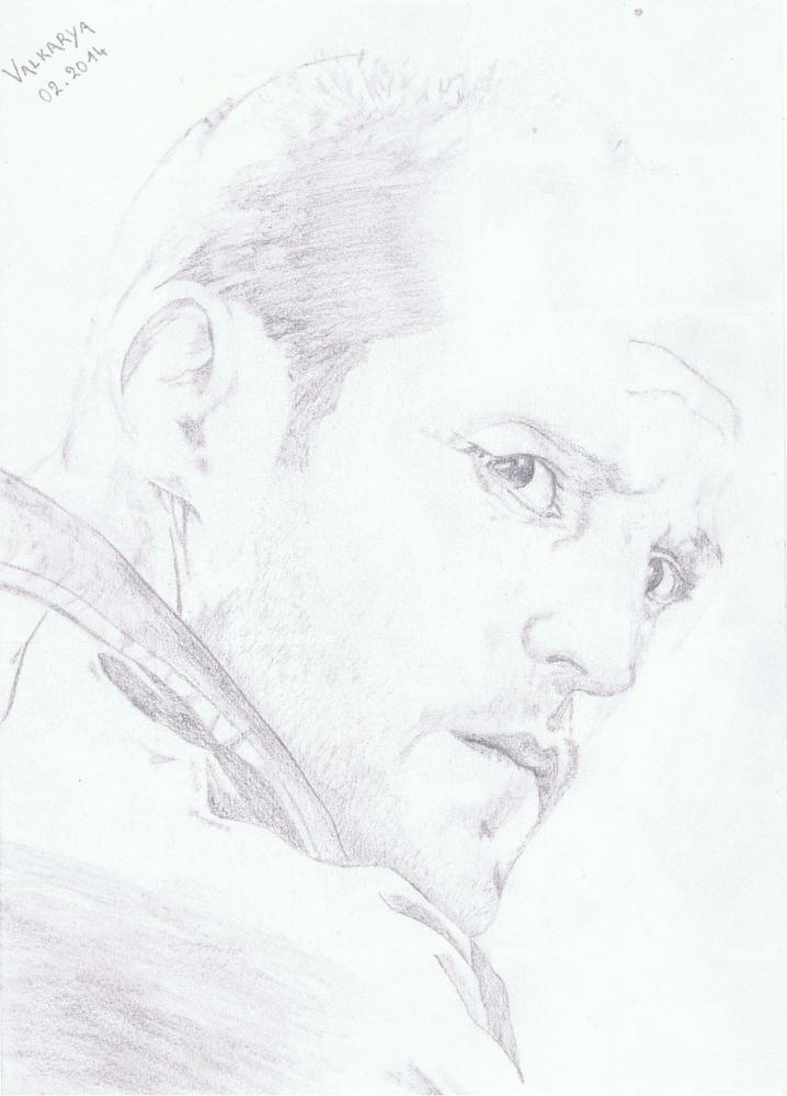 Jason Statham by Valkarya